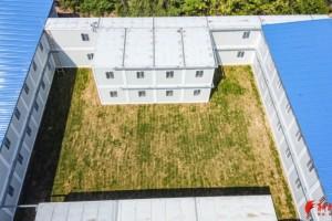 济南一高校建成带隔离病房的医院建筑面积达4600平方米