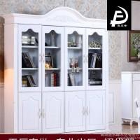工厂店直销2016新款韩式板式家具组合防尘创意书柜