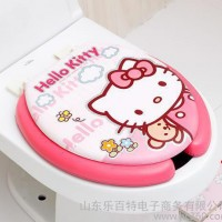 韩国 hello kittyU型马桶盖 马桶圈/坐便圈 粉色
