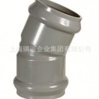 供应胶圈口管件 elbow 22.5 FF PVC外贸管件