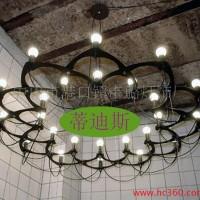 客厅餐厅酒店别墅展厅现代奢华工程24伸缩大吊灯