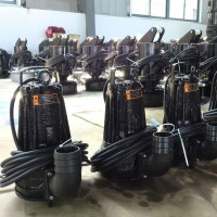 7.5kw潜水排污泵    高支架潜污泵厂家  WQ型排污泵     移动式潜水排污泵   潜水排污泵价格