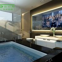 浴室镜智能LED灯镜卫生间壁挂墙带灯防雾镜洗手间厕所卫浴大镜子 LED卫浴镜