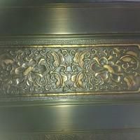 供应纯紫铜门窗、铜栏杆、铜屏风、纯铜饰品
