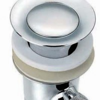 全铜提拉脸盆下水面盆下水器出口批发SL6101