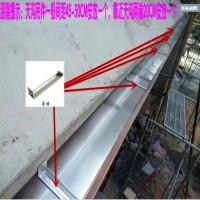 德谱瑞斯K型   U型 天沟檐槽 铝合金雨水槽落水槽 彩铝天沟落水系统 别墅屋檐雨接水槽排水槽生产厂家