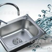 厨房洗菜盆不锈钢钢槽4835规格单水槽苏州水槽批