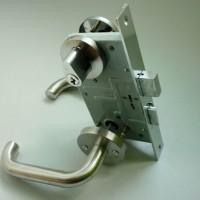 供应过道门锁(圆管A6) 永达防火锁 指纹锁  智能指纹锁