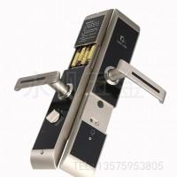 豪华滑盖酒店门锁  智能电子感应锁 银色宾馆刷卡锁 直销